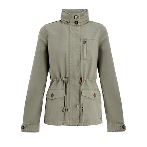 Buy Levi's Military Jacket, Seaspray Online at johnlewis.com