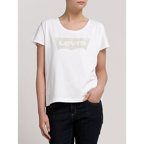 Buy Levi's Graphic Rock T-Shirt, White Online at johnlewis.com