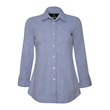 Buy Rampant Sporting Heritage Lynmouth Shirt, Chambray Online at johnlewis.com