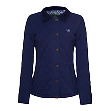 Buy Rampant Sporting Heritage Branscombe Quilted Jacket, Dark Denim Online at johnlewis.com