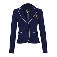 Buy Rampant Sporting Heritage Woolacombe Blazer, Collegiate Navy Online at johnlewis.com
