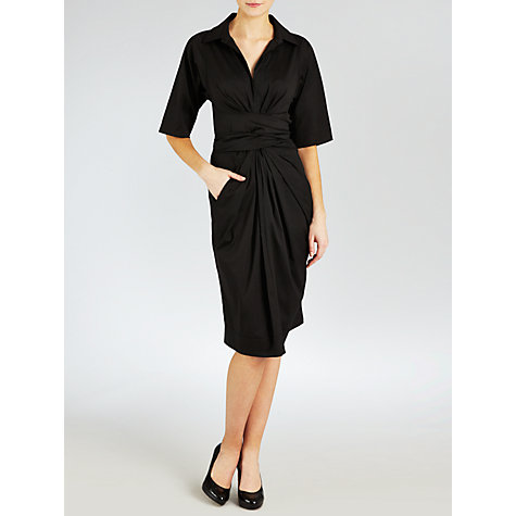 Buy Winser Shirt Dress, Black Online at johnlewis.com