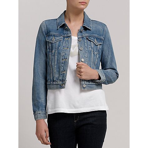 Buy Levi's Authentic Denim Moonshine Jacket, Blue Online at johnlewis.com