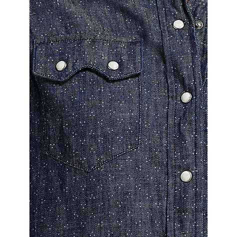 Buy Levi's Diamond Dot Denim Shirt Online at johnlewis.com