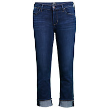 Buy A Gold E Estelle Crop Straight Jeans, Nice Online at johnlewis.com