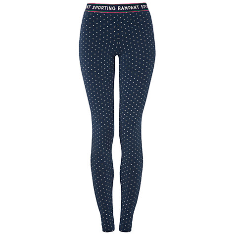 Buy Rampant Sporting Lapford Leggings, Dark Denim Online at johnlewis.com