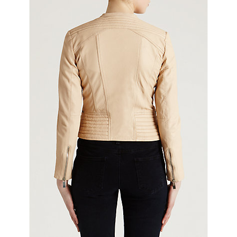 Buy Needle & Thread Legacy Leather Jacket Online at johnlewis.com