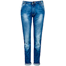Buy Lee Logger Tapered Jeans, Spring Blue Online at johnlewis.com