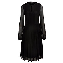 Buy Ghost Mia Dress, Black Online at johnlewis.com