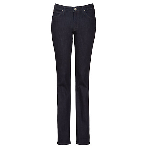 Buy Lee Marion Straight Leg Jeans, One Wash Online at johnlewis.com