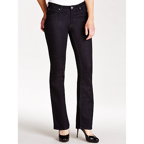 Buy Lee Marion Bootcut Leg Jeans, One Wash Online at johnlewis.com