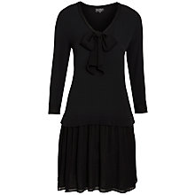 Buy Ghost Sarah Dress, Black Online at johnlewis.com
