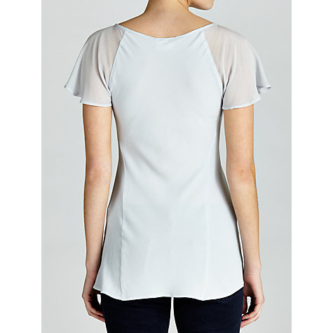Buy Ghost Angel Top, Light Grey Online at johnlewis.com