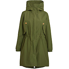 Buy Aigle Waterproof Parka, Light Bronze Online at johnlewis.com