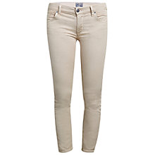 "Buy A Gold E Amelie Crop Skinny Jeans 25.5"", Tan Online at johnlewis.com"