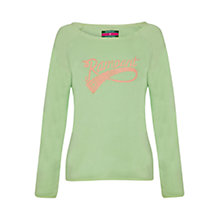Buy Rampant Sporting Boat Neck Top Online at johnlewis.com