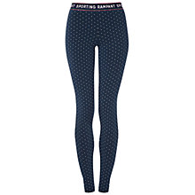 Buy Rampant Sporting Tawl Leggings, Denim Star Online at johnlewis.com