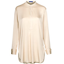 Buy Winser Long Silky Tunic Top, Champagne Online at johnlewis.com