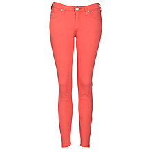 Buy Lee Zip Ankle Scarlett Jeans, Cayenne Online at johnlewis.com