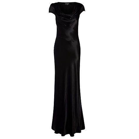 Buy Ghost Sylvia Dress, Black Online at johnlewis.com