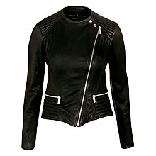 Buy Needle and Thread Legacy Leather Jacket Online at johnlewis.com