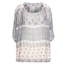 Buy Ghost Aria Top, Bridget Mosaic Online at johnlewis.com