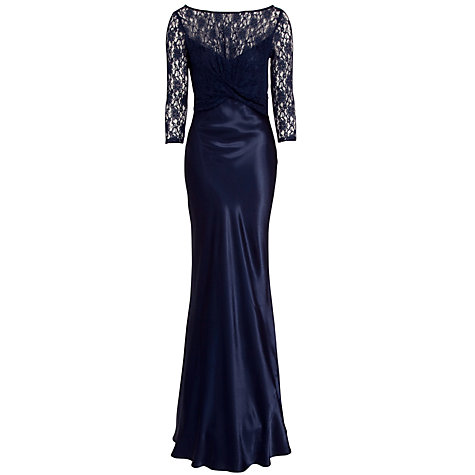 Buy Ghost Diana Dress, Indigo Online at johnlewis.com