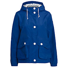 Buy Aigle Hooded Waterproof Jacket, Ocean Online at johnlewis.com