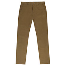 Buy Jigsaw Slim Fit Chinos, Khaki Online at johnlewis.com
