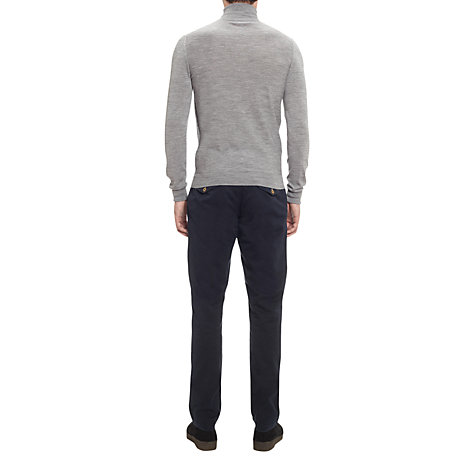 Buy Jigsaw Slim Fit Chinos, Teal Online at johnlewis.com