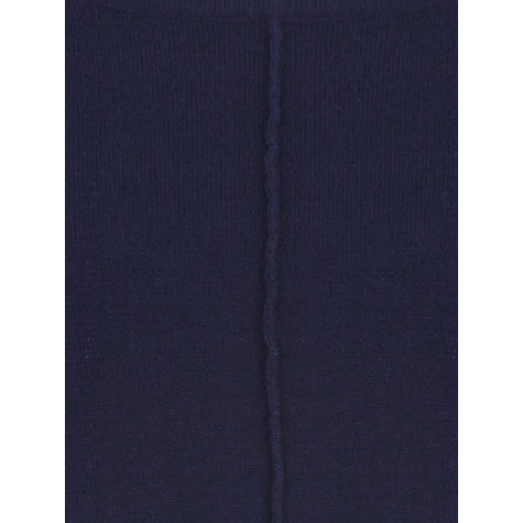 Buy Windsmoor Chevron Detail Longline Jumper, Navy Online at johnlewis.com