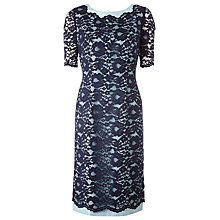 Buy Jacques Vert Monique Lace Shift Dress Online at johnlewis.com