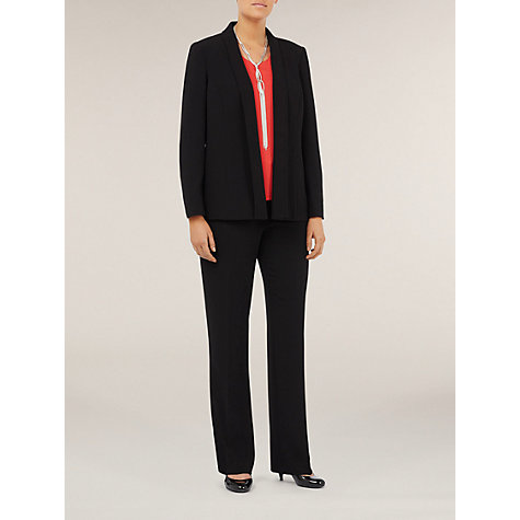 Buy Windsmoor Textured Jacket, Black Online at johnlewis.com