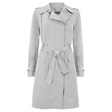Buy Mint Velvet Short Trench Coat, Stone Online at johnlewis.com