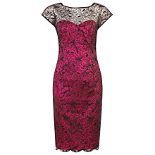 Buy Alexon Embellished Dress, Red Online at johnlewis.com