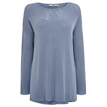 Buy Oasis Lace Pointelle Jumper Online at johnlewis.com