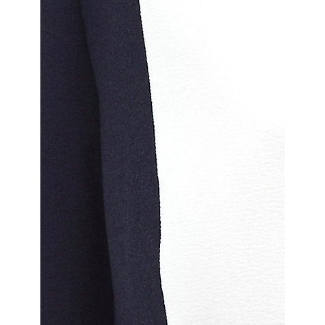 Buy Windsmoor Collarless Jacket, Navy / Ivory Online at johnlewis.com