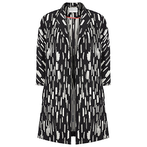 Buy Windsmoor Jacquard Jacket, Black Online at johnlewis.com