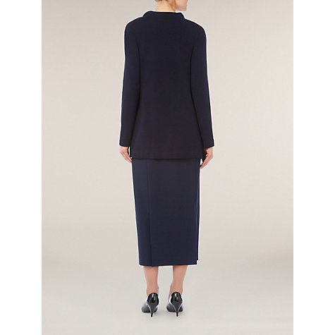 Buy Windsmoor Milano Collar Cardigan, Navy Online at johnlewis.com