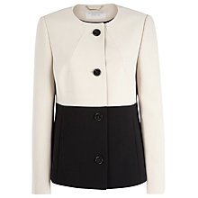 Buy Windsmoor Short Block Jacket, Neutral / Black Online at johnlewis.com