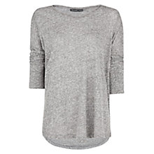 Buy Mango Dolman Sleeve Flowy Top, Medium Grey Online at johnlewis.com