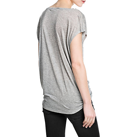 Buy Mango Jungle T-Shirt, Medium Grey Online at johnlewis.com