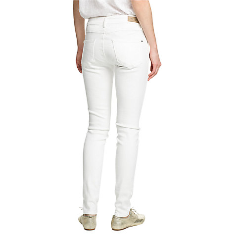 Buy Mango Super Eva Jeans, Natural White Online at johnlewis.com