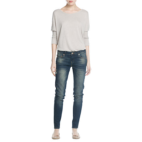 Buy Mango Uptown Jeans, Dark Blue Online at johnlewis.com