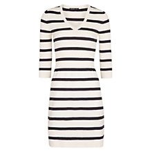 Buy Mango Striped Jersey Dress Online at johnlewis.com