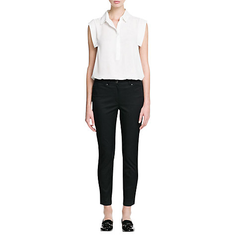 Buy Mango Collar Shirt Online at johnlewis.com