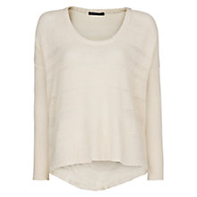 Buy Mango Open-Knit Fine Jumper Online at johnlewis.com