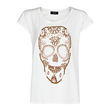 Buy Mango Skull T-Shirt Online at johnlewis.com
