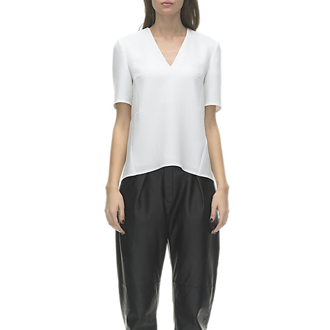 Buy Whistles Meghan Top, Ivory Online at johnlewis.com