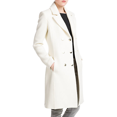 Buy Mango Double Breasted Coat Online at johnlewis.com